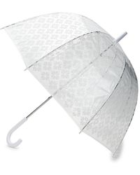 Kate Spade Spade Flower Umbrella - White