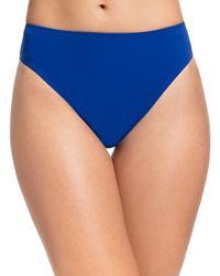 X By Gottex Women's Sapphire Bikini Bottoms - Sapphire - Size 40 (10) - Blue