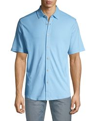 Tommy Bahama Short-sleeve Shirt - Blue