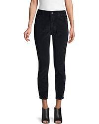 DL1961 High Rise Skinny Trousers - Black