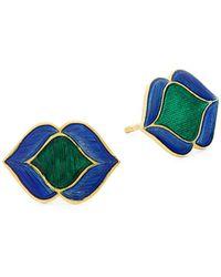 Saks Fifth Avenue Dagger Diamond And 14k White Gold Pendant Necklace - Multicolour