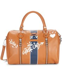 Zadig & Voltaire Sunny Love Leather Satchel - Multicolour