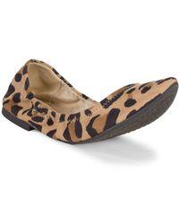 BCBGeneration - Madeline Leopard-print Ballet Flats - Lyst