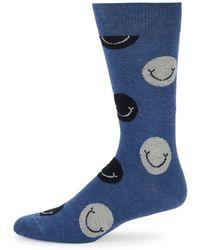 Happy Socks - Unisex Smileys Crew Socks - Lyst
