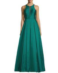Aidan By Aidan Mattox - Sleeveless Ball Gown - Lyst