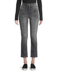 Jonathan Simkhai Marley Slim Ankle Jeans - Grey