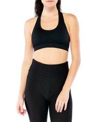 Electric Yoga - Courtney Scoop-neck Sports Bra - Lyst