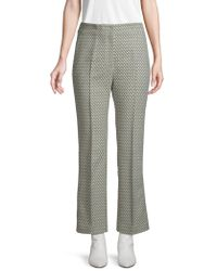 Akris Cara Cropped Trousers - Grey