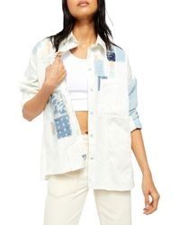 Free People Costa Ballena Button-up Shirt - White