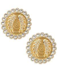 Swarovski Women's Lucky Goddess Crystal Clip-on Earrings - Metallic