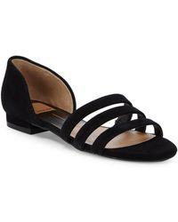 Dolce Vita - Deidra Three-strap Leather Sandals - Lyst