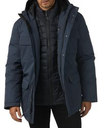 Pajar Mcbain 3-in-1 Systems Fox Fur-trim Parka - Black