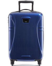 Tumi International 21.25-inch Hard Shell Carry-on Luggage - Blue