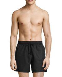 Brioni - Drawstring Swim Shorts - Lyst