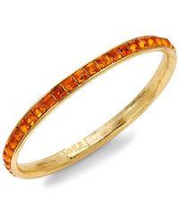 Kenneth Jay Lane Goldplated Bangle Bracelet - Metallic