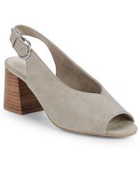 Seychelles - Scriptive Suede Block Heel Sandals - Lyst