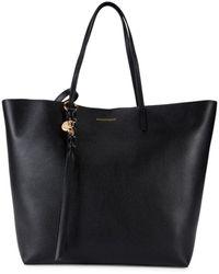 Alexander McQueen Women's Skull Leather Shopper - Black
