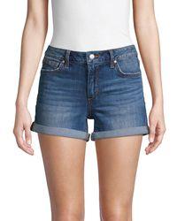 Joe's Jeans - Portia Rolled Cuff Denim Shorts - Lyst