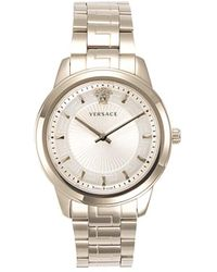 Versace Women's Stainless Steel Bracelet Watch - Metallic