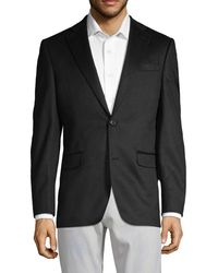 Saks Fifth Avenue Classic Cashmere Notch Jacket - Black