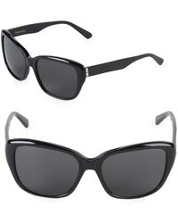 Vera Wang - 55mm Butterfly Sunglasses - Lyst