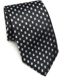 Saks Fifth Avenue | Floating Squares Silk Tie | Lyst