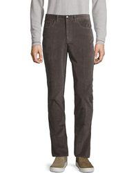 Saks Fifth Avenue Slim-fit Stretch Jeans - Multicolor