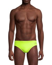 Giorgio Armani - Men's Logo Swim Briefs - Navy - Size 56 (40) - Lyst