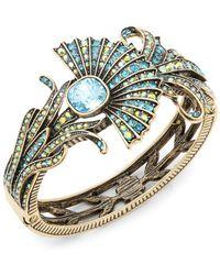 Heidi Daus - Crystal Fan Cushion Bracelet - Lyst
