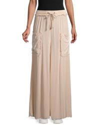 Free People Women's Sure Thing Palazzo Trousers - Black - Size Xs