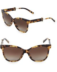 Marc Jacobs 55mm Butterfly Sunglasses - Black