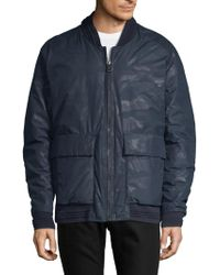 Andrew Marc - Camouflage Down Puffer Jacket - Lyst