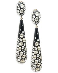 Alexis Bittar Women's Dusted 10k Goldplated, Lucite & Crystal Drop Earrings - Multicolor