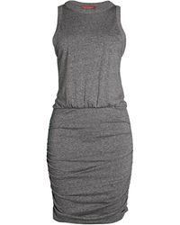 n:PHILANTHROPY Majorca Ruched Dress - Grey