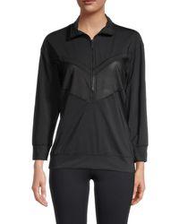 Alala Women's Popover Track Jacket - Black - Size L