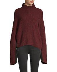 Zadig & Voltaire Lola Oversized Sweater - Multicolor