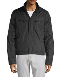 William Rast Pocket Seamed Jacket - Black