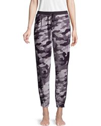 DKNY Camouflage Pajama Pants - Gray