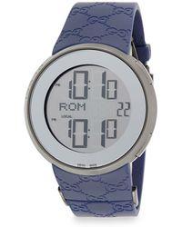 b066bd0b6ef Lyst - Gucci Ya126314 Silver   Rose Gold-tone Brown Watch in ...