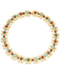 Ben-Amun | Crystal Multicolored Necklace | Lyst