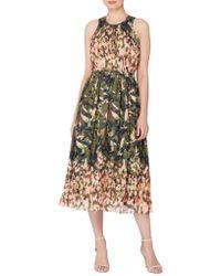 Catherine Malandrino - Safari Sojourn Alfie Printed Dress - Lyst