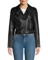 Walter Baker Ellette Leather Jacket - Black