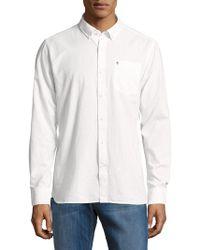 Victorinox - Textured Cotton Shirt - Lyst