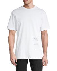 Karl Lagerfeld Impact Recycle T-shirt - White