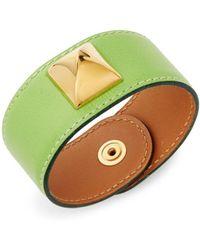 Hermès - Vintage Medor Leather Bracelet - Lyst