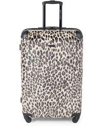 Rebecca Minkoff Katie 28-inch Leopard-print Suitcase - Leopard - Multicolour
