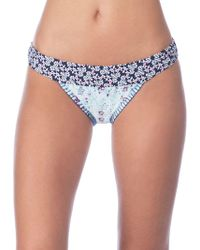 Lucky Brand - Tile To Bloom Banded Hipster Bikini Bottoms - Lyst