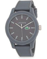Lacoste - Logo Strap Watch - Lyst