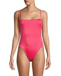 Solid & Striped - The Chelsea Solid One-piece Swimsuit - Lyst