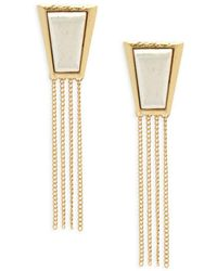 Stephanie Kantis - Impose Sterling Silver Earrings - Lyst